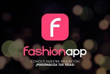 Personaliza tus telas con nuestra FashionApp